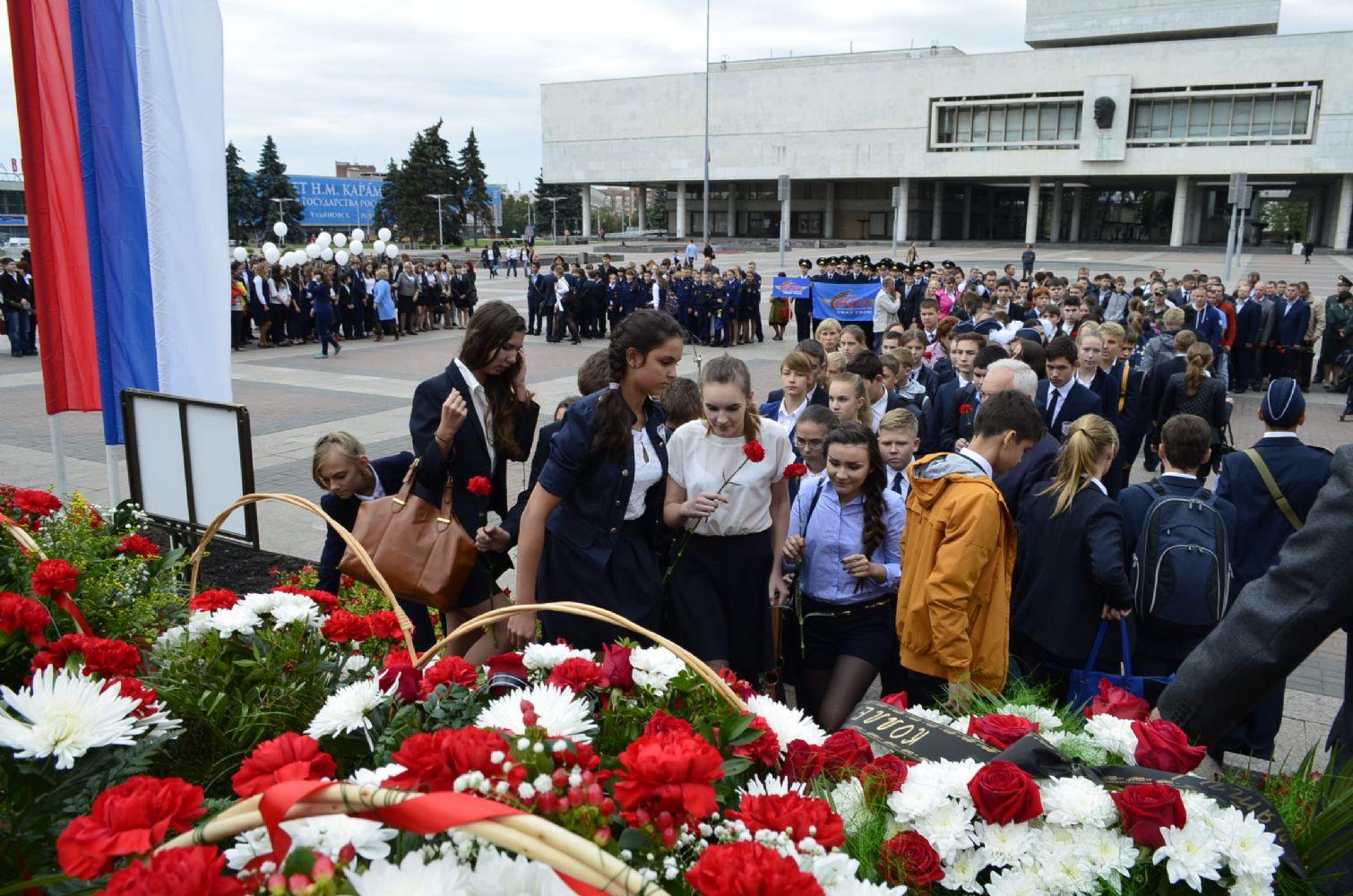 Похороны детей беслана фото