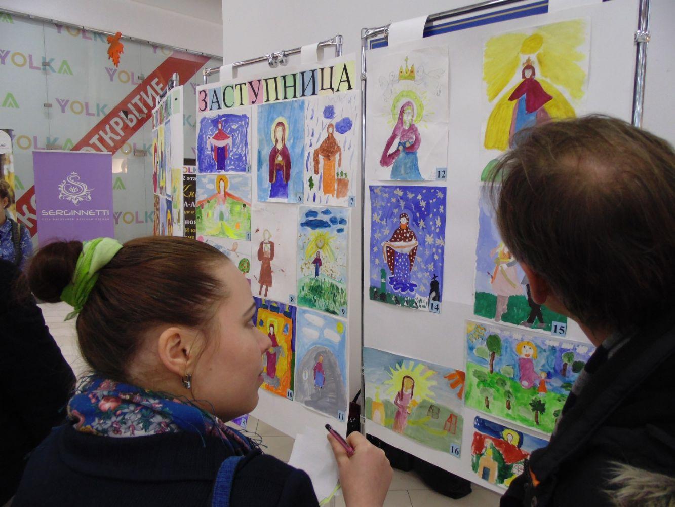 Конкурс рисунков среди школ