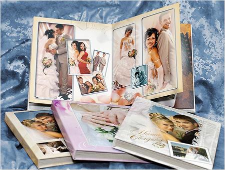 Создать свадебный альбом